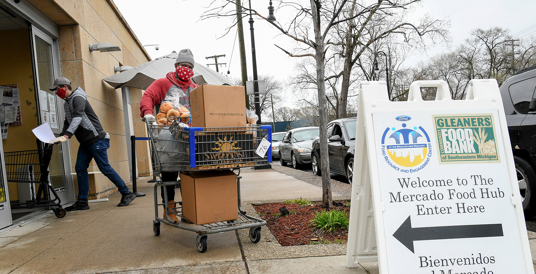 Welcome to the Ford Volunteer Corps Virtual Food Drive